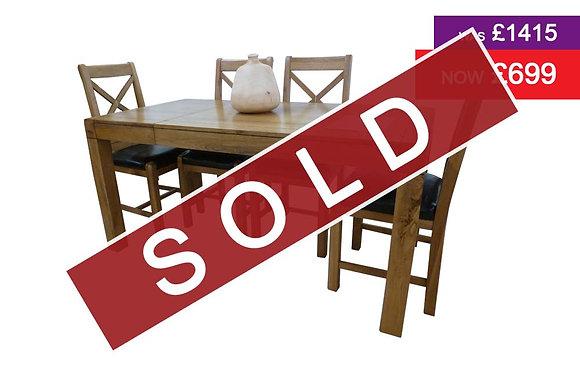 Oakridge Extending Table & 4 Chairs