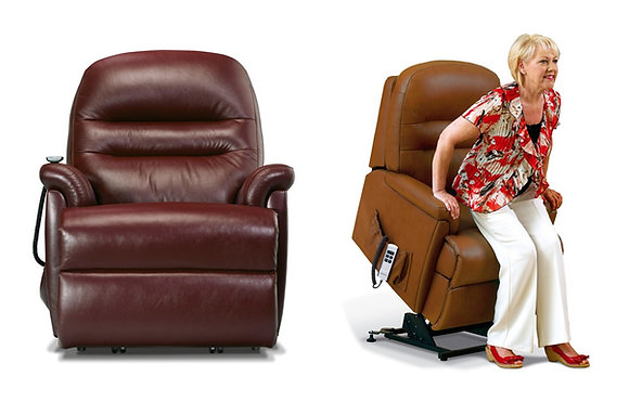 Sherborne Keswick Leather Royale Lift & Rise Care Recliner Chair