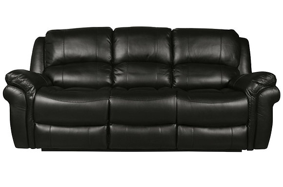 Farnhan 3 Seater Sofa (Leather Look Fabric)