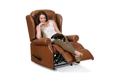 Sherborne Lynton Leather Royale Recliner Chair