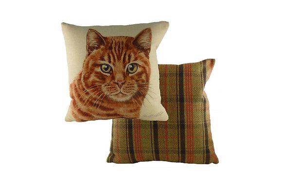 Waggydogz Ginger Cat Cushion