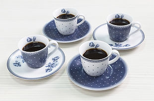 Katie Alice Vintage Indigo Tableware - Plates, Mugs, Teapot, Cups
