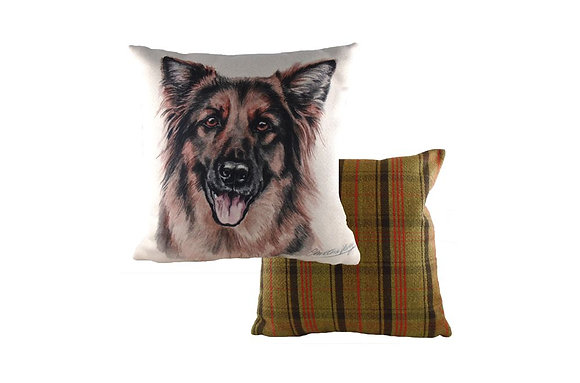 Waggydogz German Shepherd Cushion