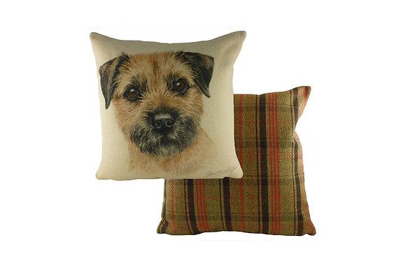 Waggydogz Border Terrier Cushion