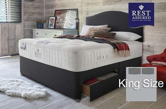 Rest Assured British Wool Firmer Comfort King Size Divan