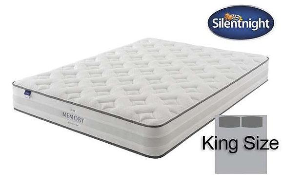 Silentnight Ruscha Miracoil King Size Mattress with Memory Foam