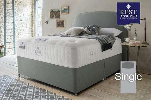 Rest Assured British Wool Medium Comfort Single Divan