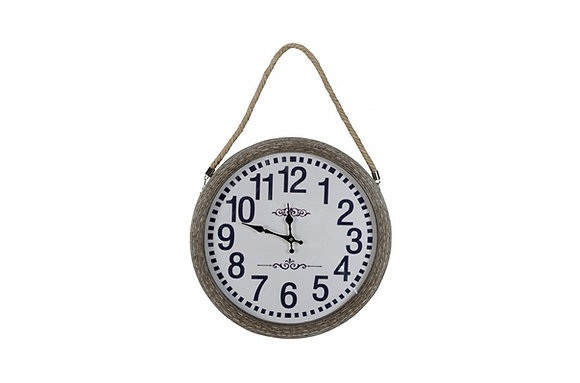 Rope Handled Hanging Clock