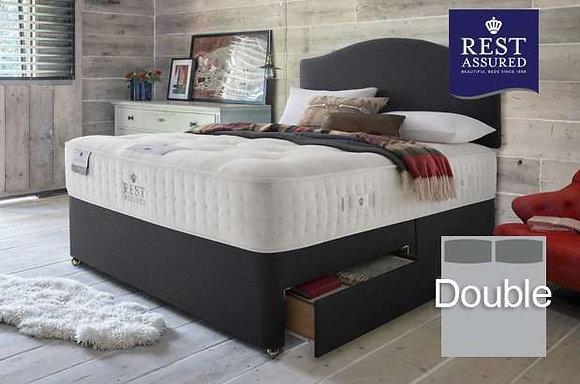 Rest Assured British Wool Firmer Comfort Double Divan