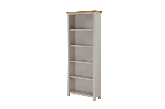 Hartford Painted Tall Wide Bookcase