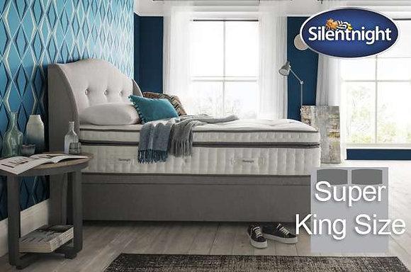 Silentnight Geltex Pocket Ultra Super King Size Divan