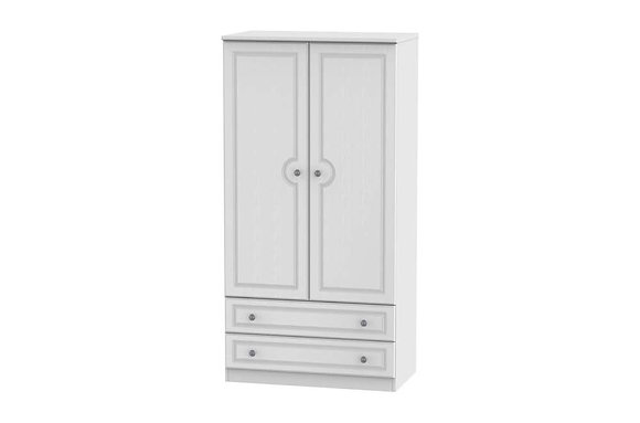 Pembroke 3ft 2 Drawer Wardrobe
