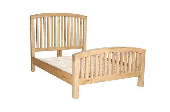 Sienna Slatted Wooden Frame Bedstead