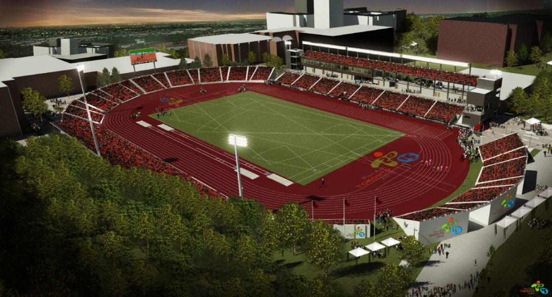 York U Stadium (Pan Am 2015)