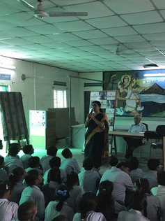 Samadhan Abhiyan workshop in Sarvodaya C