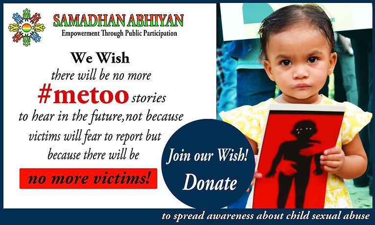 Samadhan Abhiyan donate #metoo.JPG
