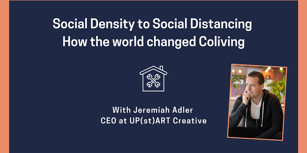 From Social Density to Social Distancing: How 2020 Changed Communities Forever