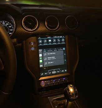 "10.4"" Large Touch Screen Ford Mustang 2015 +No B&O"