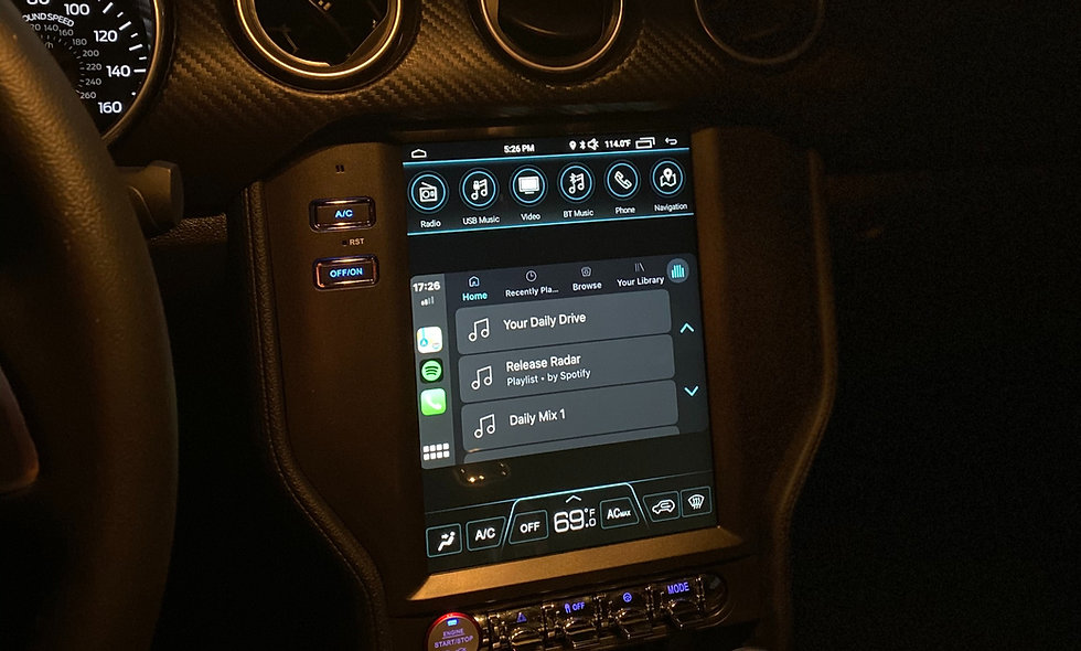 """10.4"""" Large Touch Screen Ford Mustang 2015 +No B&O"""
