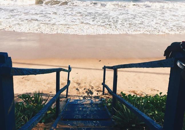 Down to Beach