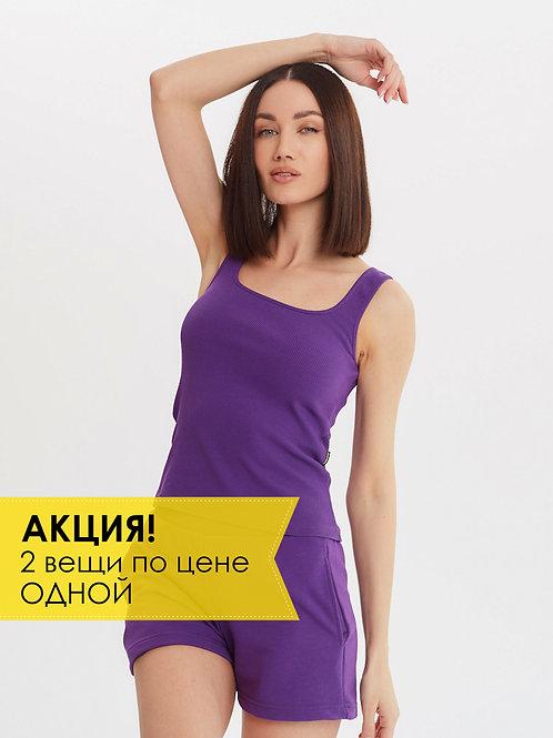 МАЙКА СПОРТИВНАЯ M.7001 Фиолетовый
