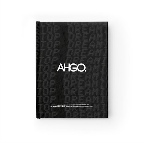 """AHGO - """"Stop Dreaming"""" Notebook"""