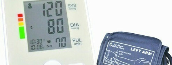 DrDiaz Blood Pressure Monitor