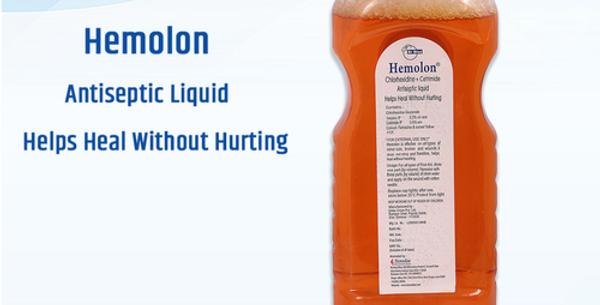 DrDiaz Hemolon Antiseptic Liquid
