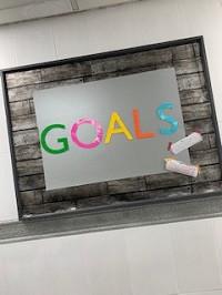 Member's Goals Board