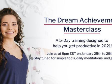 Free 5 Day Dream Achievement Masterclass