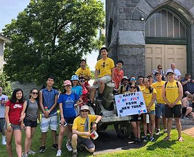 Youth Short Term Missions: Monson, MA (2019)