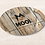 Thumbnail: MOOi faux wood reusable coasters