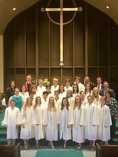 Confirmation at St.Lucas UCC
