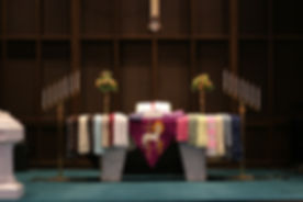 Prayer Shawls at St. Lucas UCC