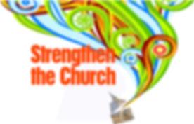 UCC Strengthen the Church Logo