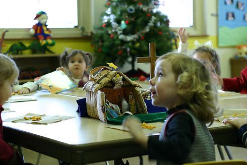 Preschoolers a St. Lucas UCC