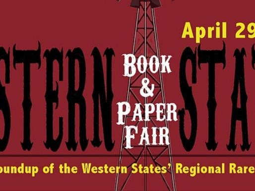 Book & Paper Fair - April 29 to May 1