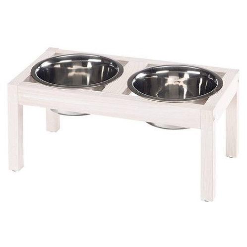 Soporte para comederos de perros y gatos