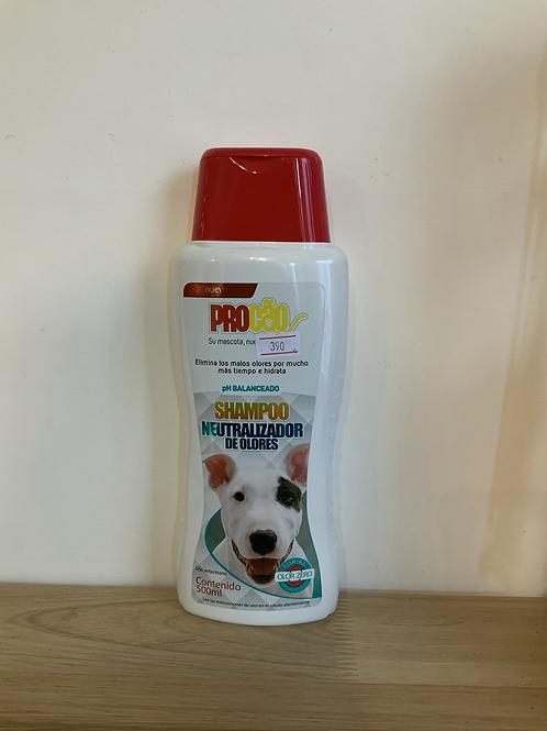 Shampoo neutralizados de olores