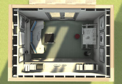 Example office interior