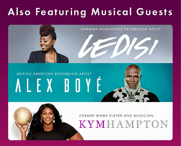 Join Arthur Ashe Institute's Sportsball 200 virtual gala for free with musical guests LEDISI, Alex Boye, and Kym Hampton
