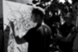 Kens bellevilloise artiste calligraphie