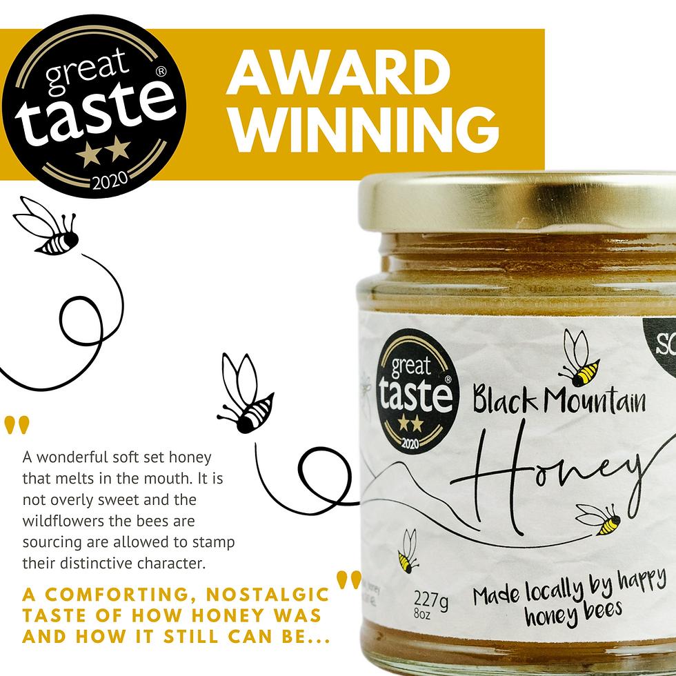 Great Taste Award Winning Honey