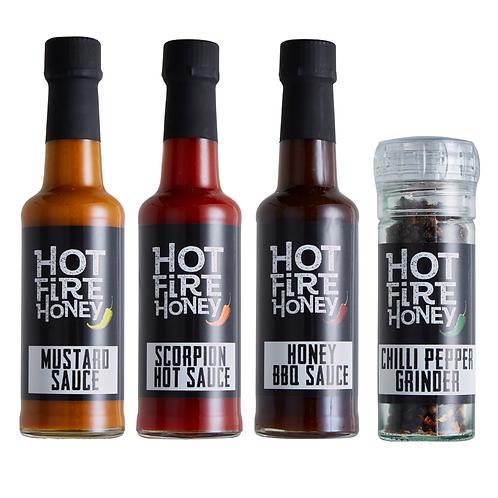 Honey Hot Sauce Gift Set