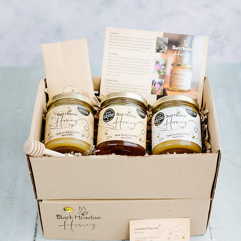 Black Mountain Honey Gift Box - Runny Honey x 2