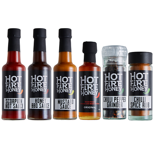 Ultimate Hot Sauce Collection