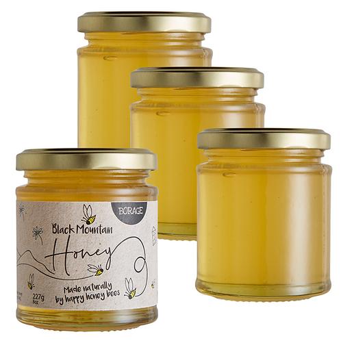 Raw Borage Honey - 4 x 227g