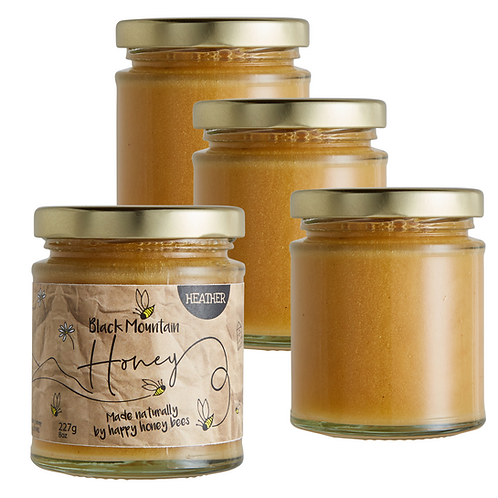 Raw Welsh Soft Set Heather Honey - 4 x 227g