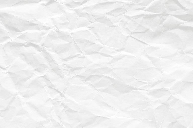 White scrunch paper AdobeStock_189384187