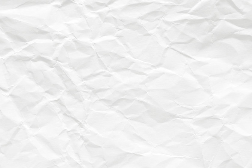 White scrunch paper AdobeStock_189384187